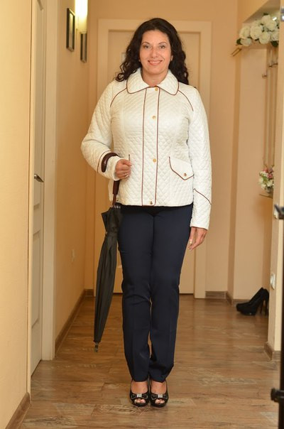 Сшить женскую куртку на синтепоне