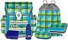 Набор для школы унисекс, из 6-ти предметов McNeill (Макнейл) CARO GREEN 9601138000 голубой