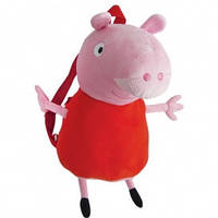 Свинка пеппа мягкая игрушка рюкзак детский 52 см