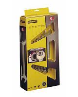 "Набор ключей рожковых STANLEY ""MaxiDrive Plus"", 6 шт: 6х7, 8х9, 10х11, 12х13, 14х15, 16х17мм."