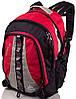 Практичный яркий повседневный рюкзак 33 л. Onepolar W1002-red красный