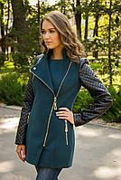 Модное пальто осень 2015 (зеленый), разные цвета