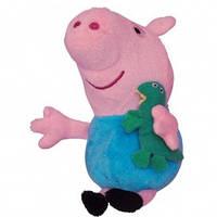 Свинка пеппа мягкая игрушка Джордж с игрушкой 20 см