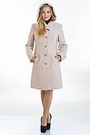 Женское бежевое кашемировое пальто с капюшоном, разные цвета