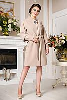 Кашемировое демисезонное пальто больших размеров (беж), разные цвета