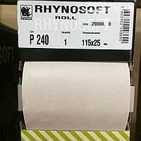Шлиф-шкурка Indasa Rhynosoft P240 115мм*25м, на поролоне