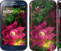 """Чехол на Samsung Galaxy Grand Duos I9082 Абстрактные цветы 2 """"818c-66"""""""