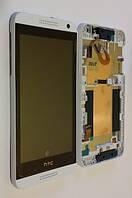 HTC desire 610 white LCD, модуль, дисплей с сенсорным экраном (в сборе с рамкой)