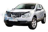 Дефлектор Капота Мухобойка Nissan Qashqai 2007-2010