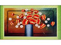 "Картина со стразами 5D ""Маки в вазе"" Размер:80*52см Код 198297"