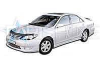 Дефлектор Капота Мухобойка Toyota Camry 2002-2006