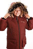 Зимняя детская куртка на холлофайбере.  Размер 122