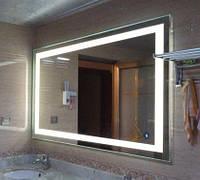 Ультратонкое Зеркало фацетное Plazma Led 1200*800 мм со светодиодной подсветкой