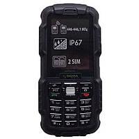 Защищённый мобильный телефон Sigma mobile X-treme DZ67 black-black