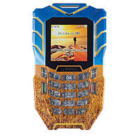 Защищённый мобильный телефон Sigma mobile Х-treme AT67 Kantri yellow-blue