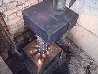 Печка-буржуйка на отработанном масле для теплиц, Украина