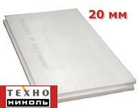 Экструдированный пенополистирол 1200х600х20мм Техноплекс