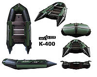 Надувная моторная лодка с килем под мотор Aquastar K-400 (5 чел.)