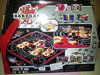 Игра бакуганов+арена магнитная карта и кости