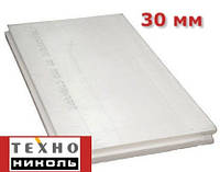 Экструдированный пенополистирол 1180х580х30мм Техноплекс