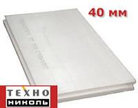Экструдированный пенополистирол 1180х580х40мм Техноплекс