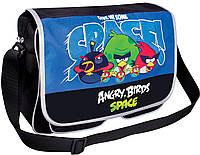 "Сумка молодежная Cool For School AB03855  ""Angry Birds Space"" через плечо, горизонтальная, 370х240х100"