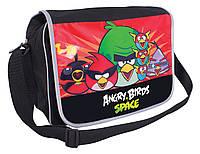 "Сумка молодежная Cool For School AB03857  ""Angry Birds Space"" через плечо, горизонтальная, 370х240х100"