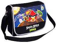 "Сумка молодежная Cool For School AB03854  ""Angry Birds Space"" через плечо, горизонтальная, 370х240х100"