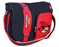 "Сумка молодежная Cool For School AB03860  ""Angry Birds Space"" через плечо, горизонтальная, 370х240х100"