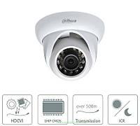 Камера видеонаблюдения HDCVI Dahua DH-HAC-HDW1100S на 1 Мп