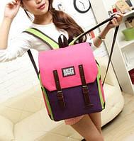 Модный рюкзак-портфель. Сумка-рюкзак. Школьный ранец. Стильный женский портфель. Код: КРСС144