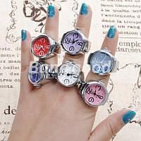 Часы в виде кольца! Вы приобрели кольцо с часами? Успейте! Будьте оригинальными! Кварцевые часы в виде кольца!