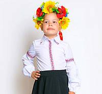 Блузка вышиванка детская