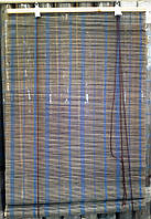 Бамбуковые шторы, однотонные 60 х 160 см.