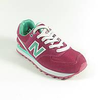 Женские кроссовки реплика New Balance розовые