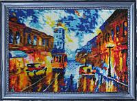 Набор для вышивания бисером Вечерний проспект (по картине Л. Афремова) БФ 306
