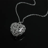 "Кулон женский в стиле Tiffany & Co ""Ажурное сердце, мини"""