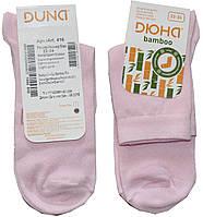 Носки для девочки, светло-розовые, бамбуковые, размер 22-24, Дюна