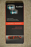 Хорошие вакуумные наушники MP3 Hollo Vacuum HMSV-MH001-RW  Очень удобные