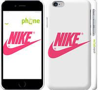 """Чехол на iPhone 6 Nike с розовым логотипом """"2736c-45"""""""