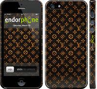 "Чехол на iPhone 5 Louis Vuitton v6 ""2121c-18"""
