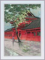 """Набор для вышивания """" Красная пагода"""""""