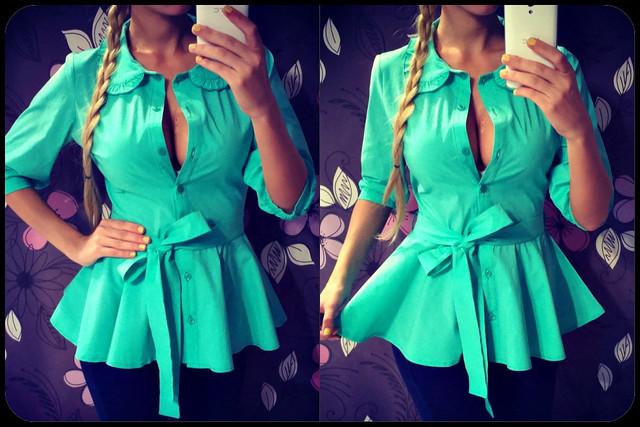 Блузка С Баской Купить С Доставкой