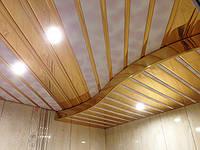 Красивый потолок в ванной? Легко