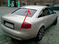 Блэнда (спойлер) на заднее стекло Audi A6 (2001-2004)