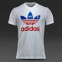 Футболка adidas Originals Palm Trefoil Tee - White