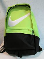 Рюкзак Nike салатовый с черным 805 код 477А