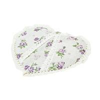Прихватка сердце Lilac Rose