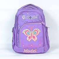 """Прочный школьный рюкзак """"KBC"""" для девочки - Код К-254 (сирень)"""
