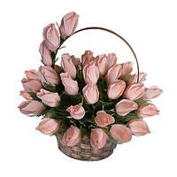Букет из конфет 35 розовых роз